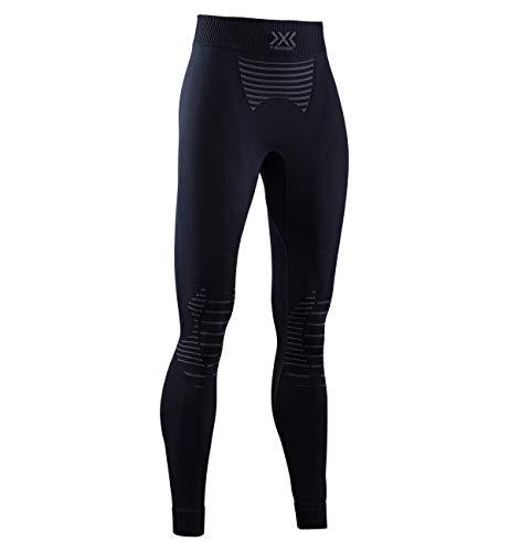 X Bionic Invent 4.0 Strato Base Pantaloni Funzionali, Donna, Black/Charcoal, S