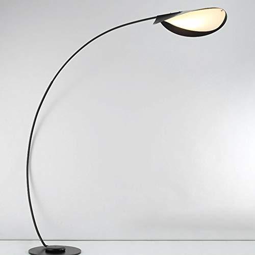 FJLOVE Lámpara De Pie De Arco LED Contemporánea Colgante sobre El Sofá En Poste Arqueado,Iluminación Moderna De La Sala De Estar Combina con La Decoración Y Recibe Cumplidos