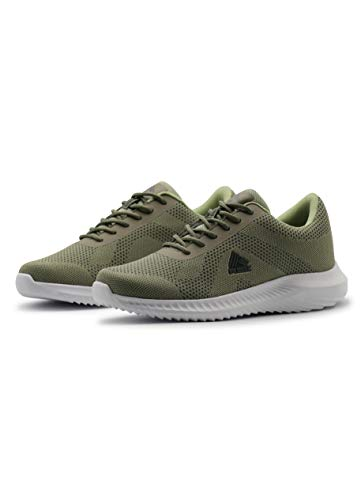 RBX Active Women's Athletic Sneaker, Lightweight Airy Mesh Running Training Shoe for Women Olive Green