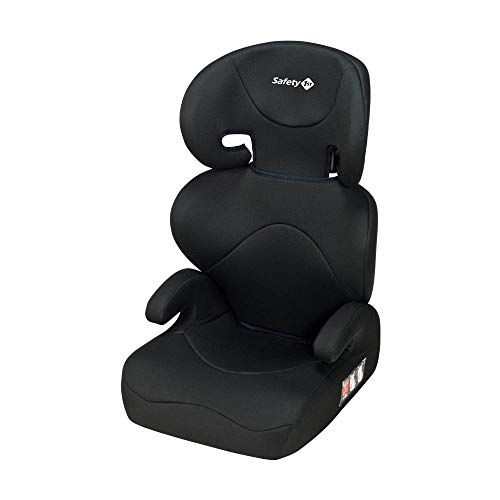 Safety 1st Road Safe Silla de coche grupo 2/3, reclinable en 2 posiciónes, Fácil y rápida de instalar con cinturón de seguridad, color negro
