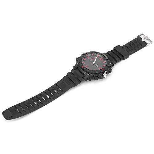 Reloj deportivo impermeable reloj intermitente modo luces 32G con seguridad reloj almacenamiento fotos intimidad protección para deporte