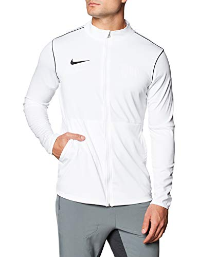 Nike Herren Strickjacke Gestrickte Park 20, Weiß Schwarz, M, BV6885