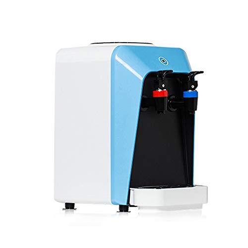 Dispensadores de agua caliente Mini Dispensador De Agua De Escritorio para Oficina En Casa Mini Compacto Silencioso Reducción De Ruido (Color : Blue, Size : 20 * 23 * 30cm)