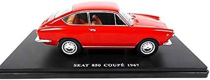 SEAT 850 COUPE 1967 fiat 850 coupé VQ19 Voiture 1//24 SALVAT Models