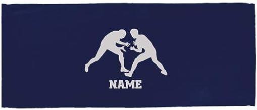 「レスリング」名入れフェイスタオル、スポーツタオル、名入れギフト、大会 景品 参加賞【FTC】退職祝い 退職プレゼント