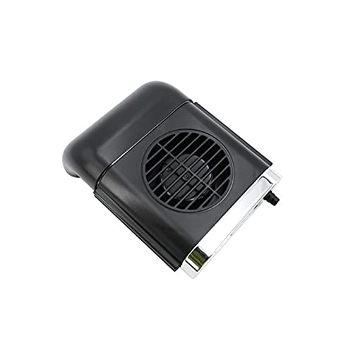 ZGHYBD Summer Car Seat Exhaust Fan,USB Powered Mini Car Fan,4 Speed Radiator,Cooling Air Fan for Car, Rear&Back Seat,Driver's Seat