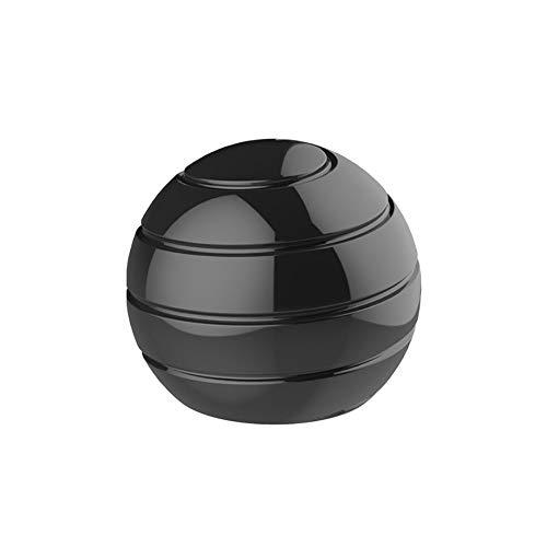 Pomety Desktop Ball Transfer Gyro Aluminio Aleación Kinética Escritorio Toy Stress Relief Office Oficina Ejecutiva Gadgets Metal Ball Desmontaje Completo Rotary DecomPresione Juguete