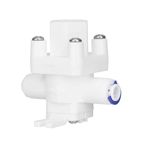 """Regulador de presión de agua Válvula reductora de montaje rápido de 1/4\""""para purificador de agua de ósmosis inversa"""