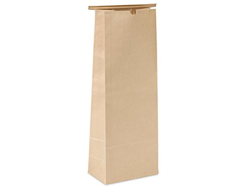 New Tin Tie Coffee Bag 500 Count - 5 LB - Kraft