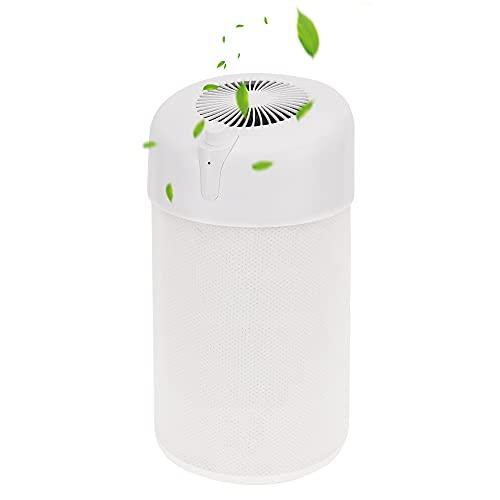 Purificador De Aire, Purificador Aire Hogar,Filtro Hepa Purificador Aire, Puede Desinfectar Y Desodorizar, Las Alergias, El Moho (Blanco)
