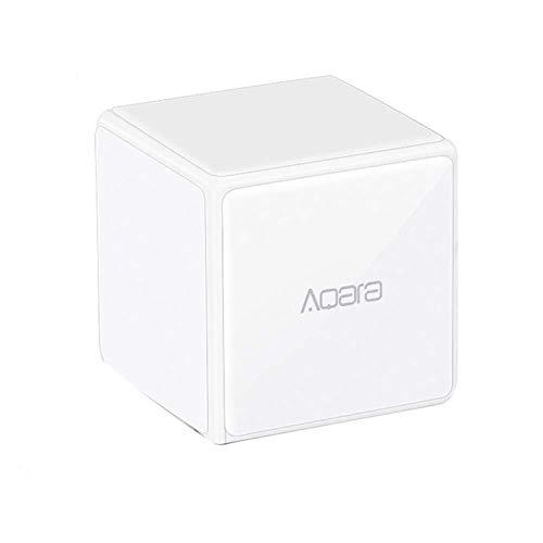 Bainuojia für Xiaomi Aqara Magic Cube Controller Zigbee Version Wird durch 6 Aktionen für Smart Home-Geräte gesteuert Arbeit für Mijia und Apple HomeKit APP