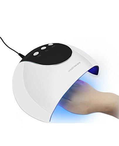 USB LED 24W White Nail Smart Light Therapy Machine Secador de la lámpara de uñas Secado rápido Esmalte de uñas Pegamento LED Lámparas de luz Lámparas Starter Tools