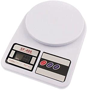 Digital kitchen scale, white- 10kg
