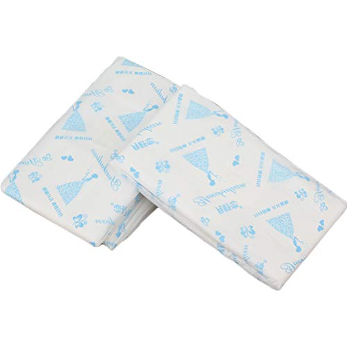 20Pcs Women's Sanitary Napkin Bamboo Fiber Period Pads Night Double Ese Sanitary Napkin (400mm)