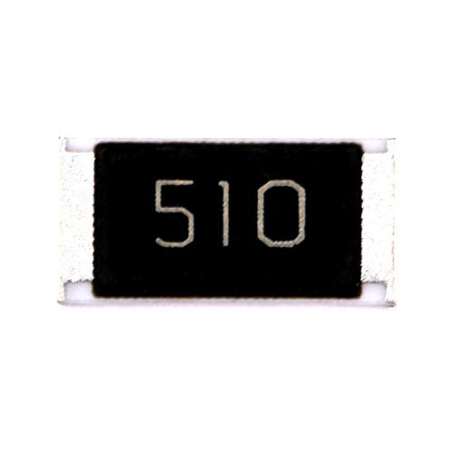 DIYElectronic 50 pcs 2512 SMD Chip Resistor 51 ohm 51R 510 1W 5% Passive Components Resistors