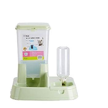 Yaojun Distributeur automatique pour animaux de compagnie chat chien dispositif d'alimentation automatique eau potable nourriture pour chats machine bol pour chats chat nourriture pour chiens bol nour
