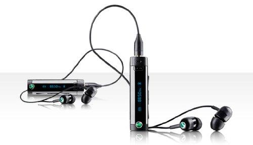 Sony Ericsson MW600 HiFi Bluetooth Stereo Headset mit UKW-Radio schwarz