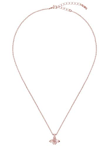 Ted Baker Bellema Bumble Bee Pendant Necklace Rose Gold Tone