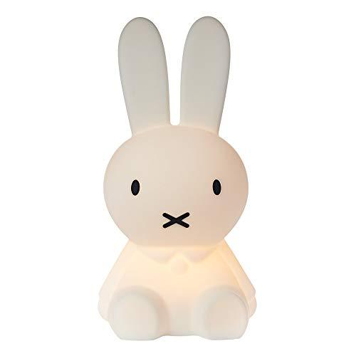 Mr Maria - Miffy First Light Lampe 2.0 - 30cm - Ein kleiner Freund für Ihr kleines Wunder, Dimmbare & Aufladbare LED-Kinderlampe - Zum Mitnehmen in den Urlaub, Übernachtungen bei Freunden und Familie