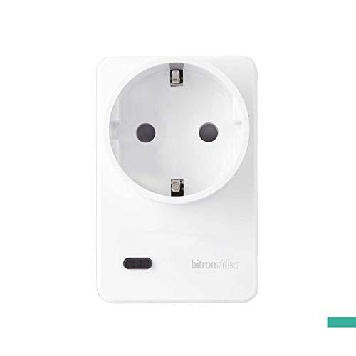 SMaBiT AV2010/25 ZigBee Smart Plug mit Verbrauchsdatenerfassung 16A Zwischenstecker, 230 V