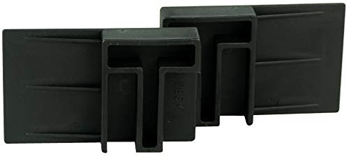 HRB Rollo Stop, der Rolladen Stopper, Fenstersicherung gegen Einbruch und hochschieben, Einbruchschutz ohne Bohren oder Schrauben, Klemmen auch bei gekippten Fenster nutzbar