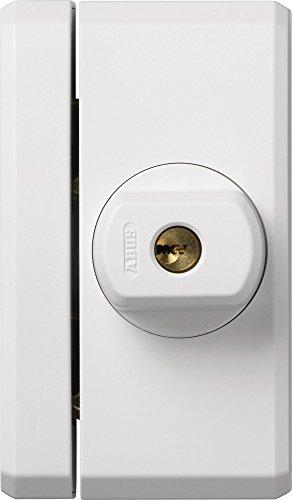 ABUS Fenster-Zusatzsicherung FTS96 AL0125 - Fensterschloss 2 verkrallenden Stahlriegeln, gleichschließend - ABUS-Sicherheitslevel 10 - 31745 - weiß