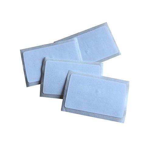 YARONGTECH 13.56Mhz MIFARE Classic® 1K RFID-blanco wit gecoate papiersticker (pak van 10) 40x25mm Dia 25mm