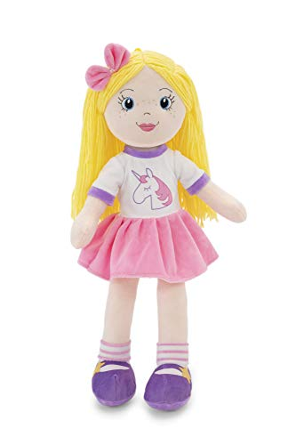 """PLUSHIBLE BRIDGING MILES WITH SMILES Sharewood Forest Friends - Plush Stuffed Animal for Girls and Boys - 18"""" Rag Doll (Eimmie The Rag Doll)"""