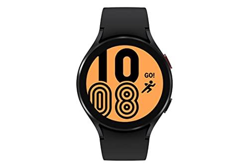 SAMSUNG Galaxy Watch 4 44 mm Reloj Inteligente con Monitor ECG Tracker para Salud, Fitness, Correr, Ciclo de sueño, GPS, detección de caídas, Bluetooth, versión Estadounidense,...