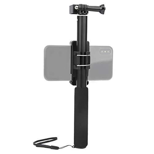 DAUERHAFT , Compatible con cámaras Deportivas comunes en el Mercado Soporte para teléfono móvil Juego de Palo Selfie telescópico, Accesorios de fotografía para teléfonos móviles, para OSMO Pocket 2