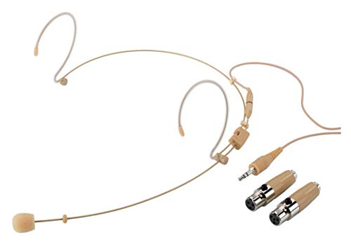 IMG Stageline Ultraleichtes Headset-Mikrofon HSE-150A/SK