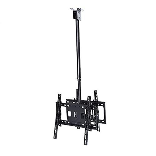 CCBBA Pantalla Doble Soporte de Techo para TV, para televisores Planos y curvos de 26 a 55 Pulgadas de hasta 40 kg, Múltiples Patrones VESA