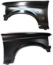 Front Fender Compatible with Ford Driver and Passenger Side