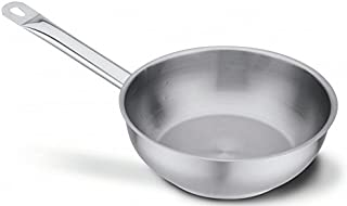 /Cromargan/® Acier Inoxydable 10//18 /Cuisine Po/êle//Casserole 16/cm capacit/é 1,1L/ Fagor bmp16/