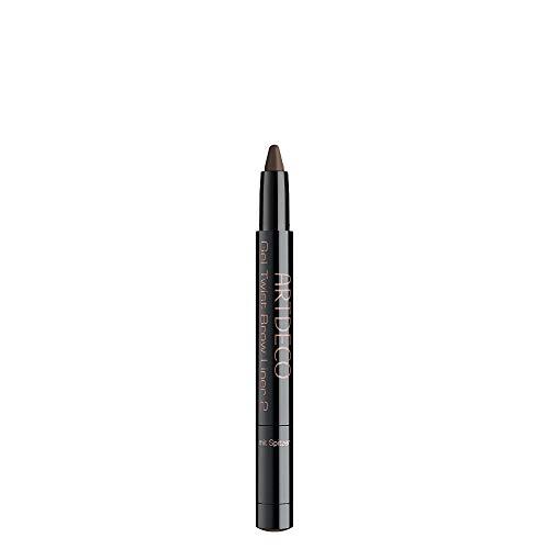 ARTDECO Gel Twist Brow Liner, Augenbrauen Gel Brauenstift, Nr. 2, deep brown