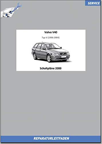 Volvo V40 (2000) Werkstatthandbuch Schaltpläne (gedrucktes Buch)