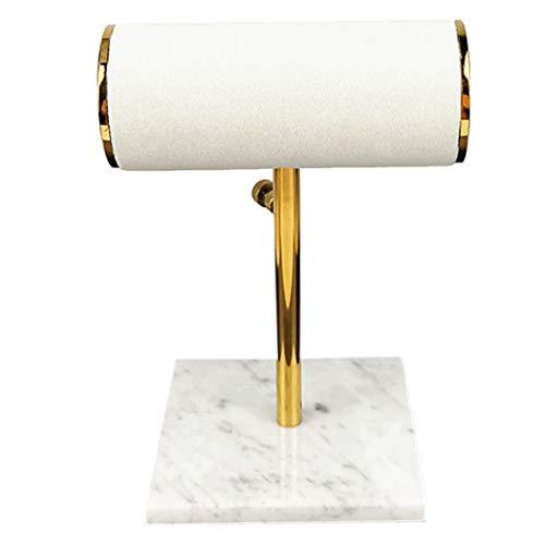 Sonline Espositore per Gioielli Espositore per Gioielli nel Marmo di Moda Espositore per Gioielli nel Flanella Supporto per Orologio Supporto per Collana per Orologi