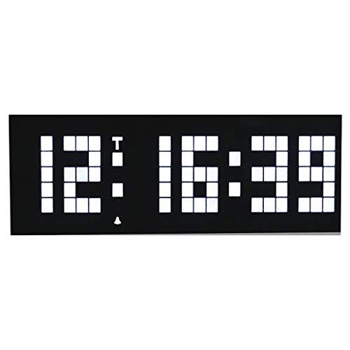 MXH Alarm LED (6 cijfers en 5 segmenten) Wandklok Mute-Digital-elektronische klok Klok Tafelklok