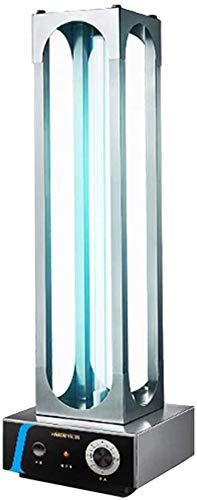 YDBET UV germicida Luce manopola del Timer ad Alta Potenza 150W in Acciaio Inox Lampada da Tavolo disinfezione dell'Aria ozono e UVC Luce Libero, Ospedale Scuola Fabbrica Commerciale