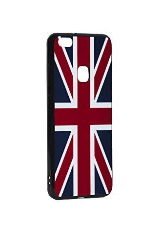 TARLEY telefoonhoes compatibel met I-Phone, Samsung en Huawai voetbal beschermhoes TPU siliconenhoes WM Cover vlag vlag fanartikel Engeland, Huawei P10lite, België.