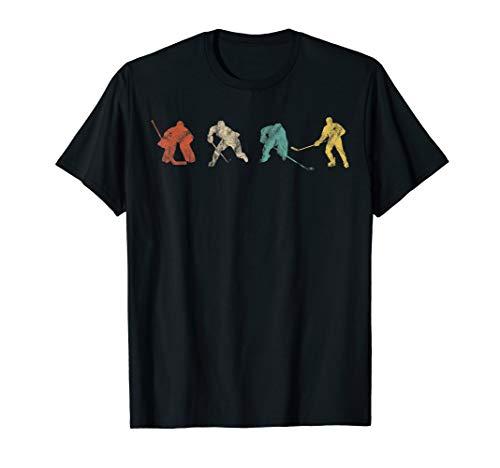 Eishockey Spieler Ice Hockey Player Geschenk T-Shirt
