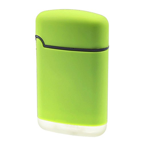 SMOKERTOOLS Easy Torch 8 Outdoor Sturmfeuerzeug in 4 Farben sortiert, Farbe Easy Torch Outdoor:Grün Grün
