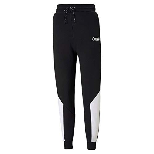 PUMA Damen Jogginghose Rebel High Waist Pants TR cl, PUMA Black, M, 585825