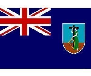Montserrat - 5 ft x 3 ft Bannière drapeau avec Livraison gratuite au Royaume-Uni