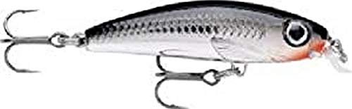 Rapala Ultra Light Minnow 04 Fishing lure, 1.5-Inch, Chrome