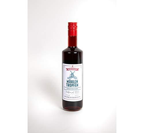 1 Flasche Niehoff Mühlentropfen Halbbitter Kräuterlikör a 0,7l 35% Alkohol