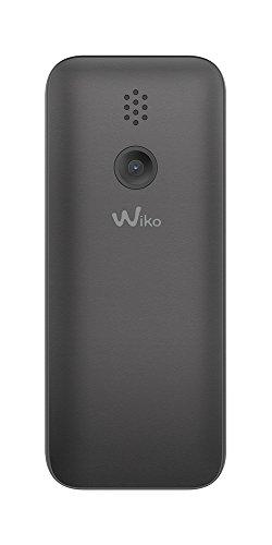 Wiko Lubi5 Téléphone portable débloqué 2G (Ecran: 1,8 pouces - 32Mo - Double SIM) Noir
