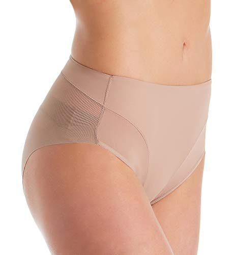 Janira - Bragas moldeadoras de vientre plano push-up, adelgazantes, modelo Secret Slip beige Large