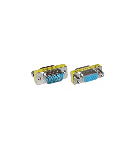 Neklan AB9055 - Adaptador VGA, Macho-Hembra