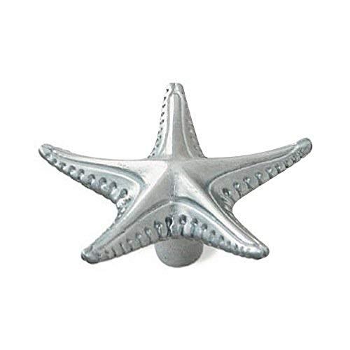 Siro Designs SD64-242 Starfish Knob, 2.65-Inch, Chrome